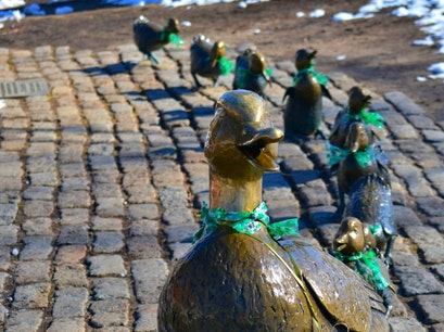 Make Way for Ducklings Boston Massachusetts United States