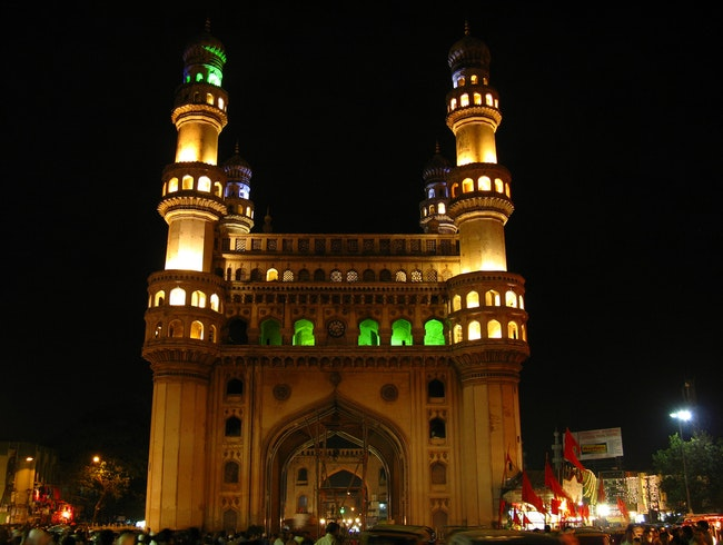 The Four Towers of Hyderabad