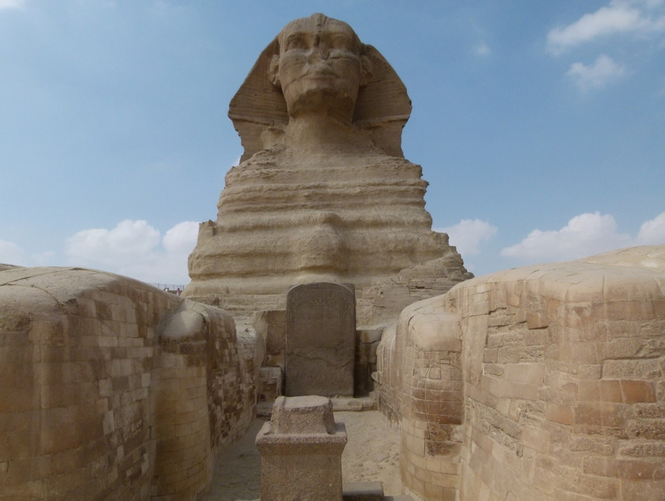 This Close to a Sphinx  Qesm Al Wahat Al Khargah  Egypt