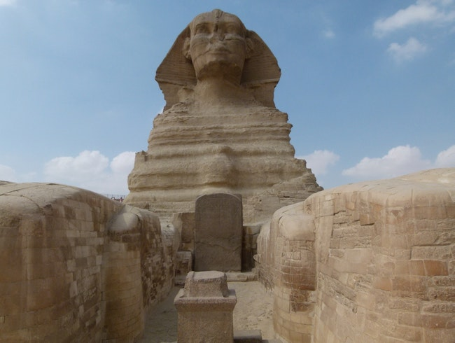 This Close to a Sphinx