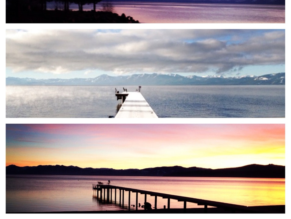 Lake Tahoe And The Shifting Sun Tahoe City California United States