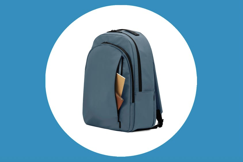 Save 50 percent on Away's Backpack in select colors.