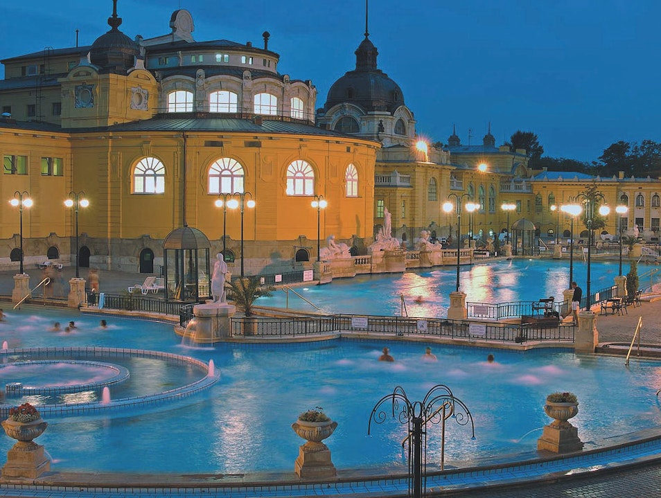 The Széchenyi Thermal Bath Budapest  Hungary