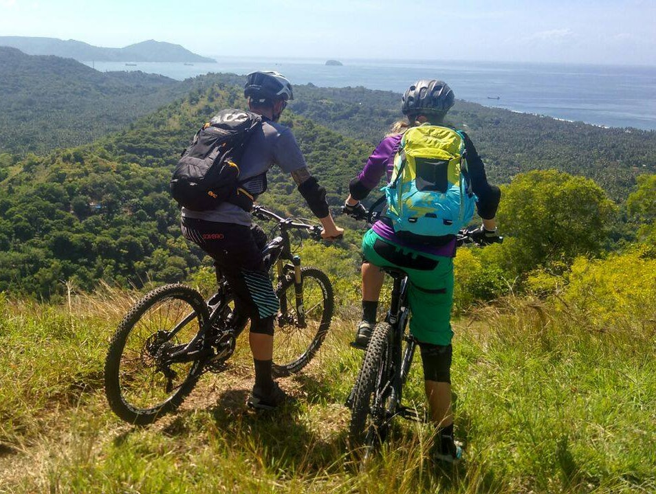 Mountain Biking in Paradise Sukasada  Indonesia