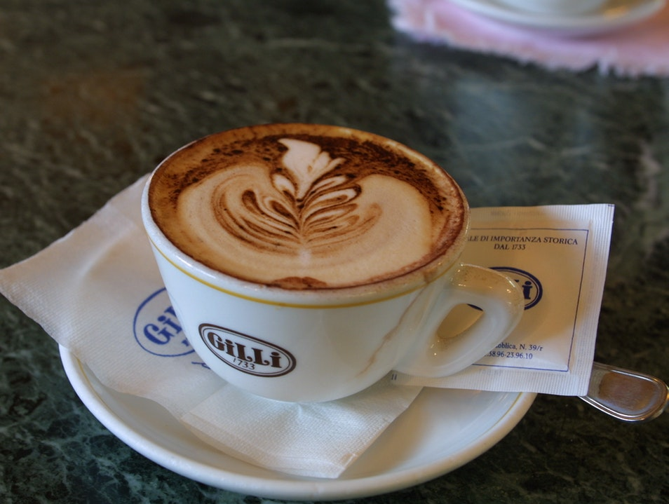 Coffee culture Florence  Italy