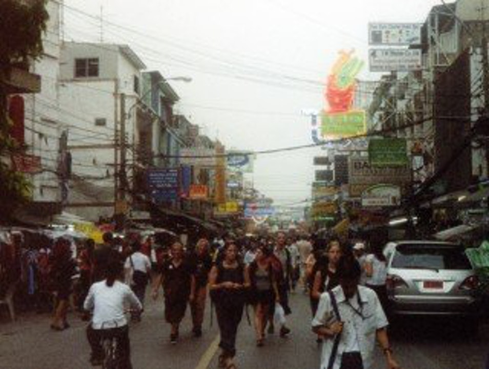 The Sensational Khao San Road Bangkok  Thailand