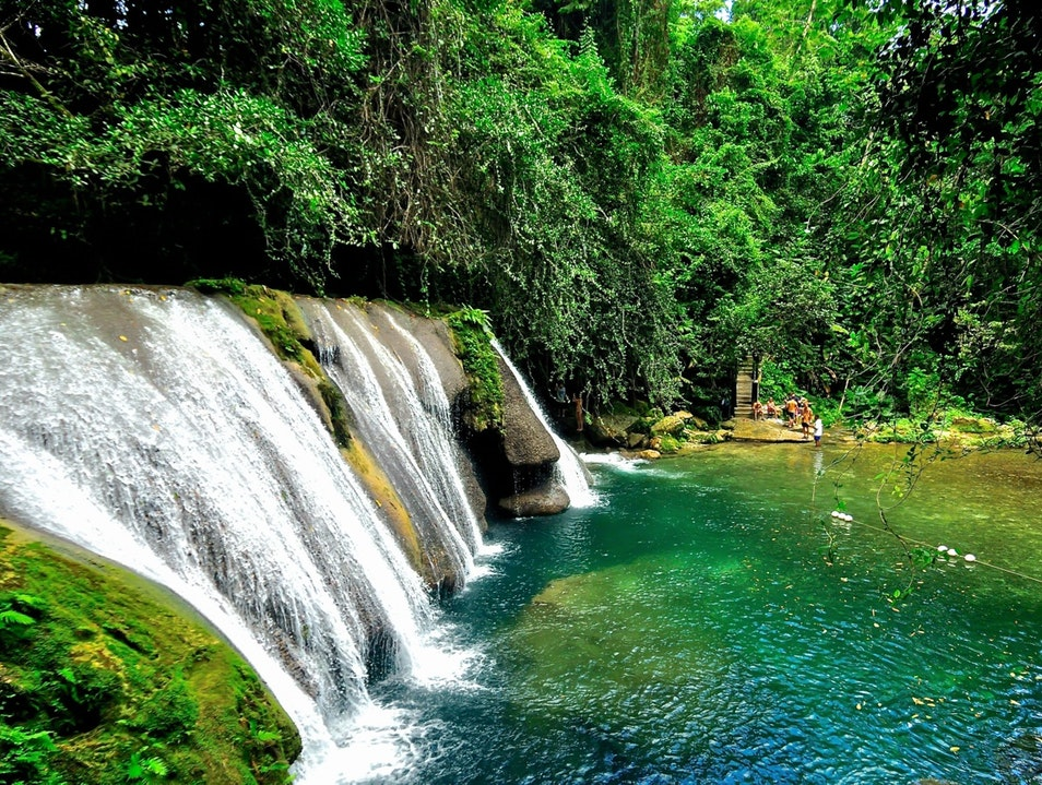 Get Lost in Jamaica's Most Beautiful Falls Manchioneal  Jamaica