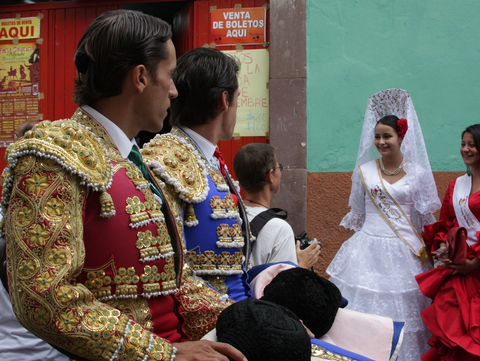The Finery of the Bullfight