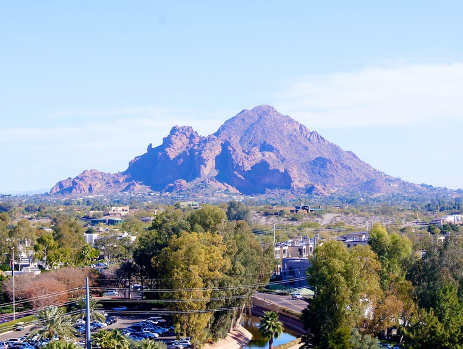 Hiking in Scottsdale Phoenix Arizona United States
