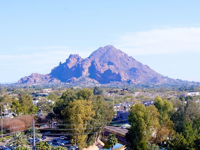 Camelback Mountain Phoenix Arizona United States