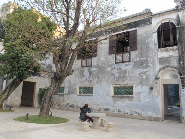 Beautiful Residence typical of Guangzhou style with Western architectural influences