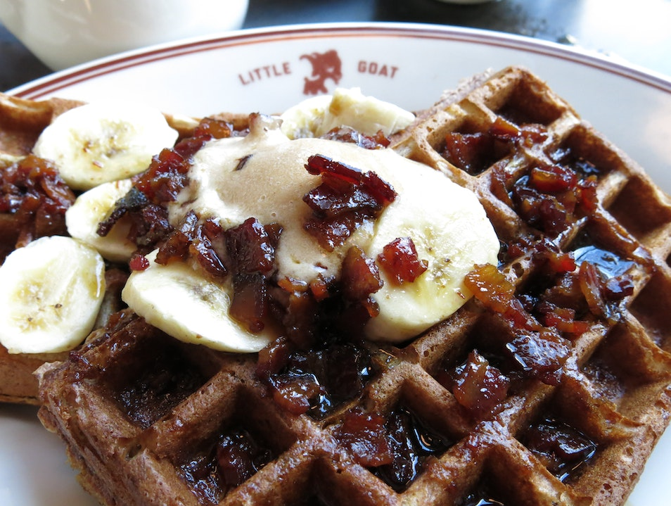 Fat Elvis Waffles Chicago Illinois United States