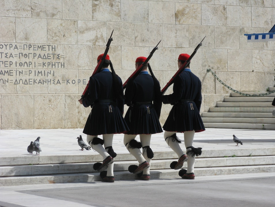 Changing of the Guard Athens  Greece