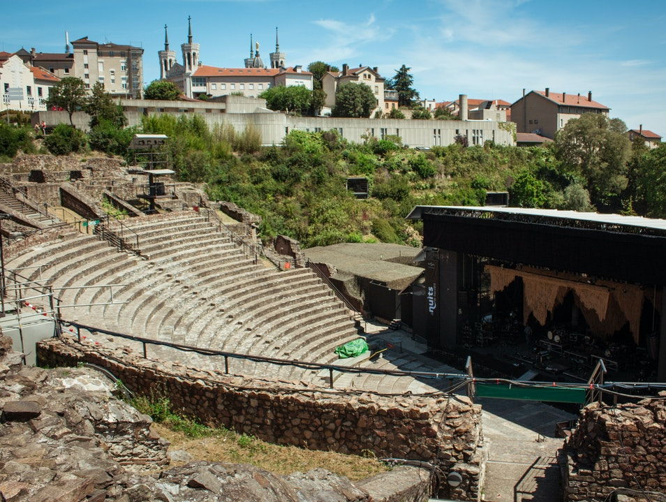 Unforgettable Concert in an Ancient Roman Amphitheater Lyon  France