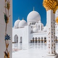 Sheikh Zayed Grand Mosque Abu Dhabi  United Arab Emirates