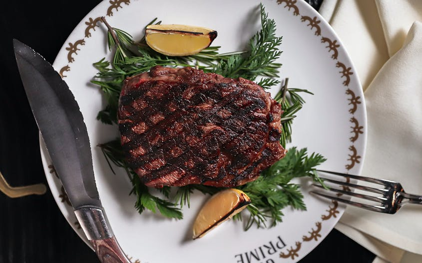 GT Prime elevates steakhouse fare with cuts of bison and venison.