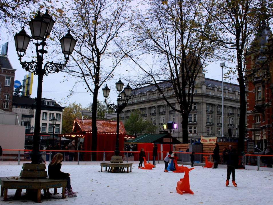 Great Skates: Taking to the Ice in Amsterdam