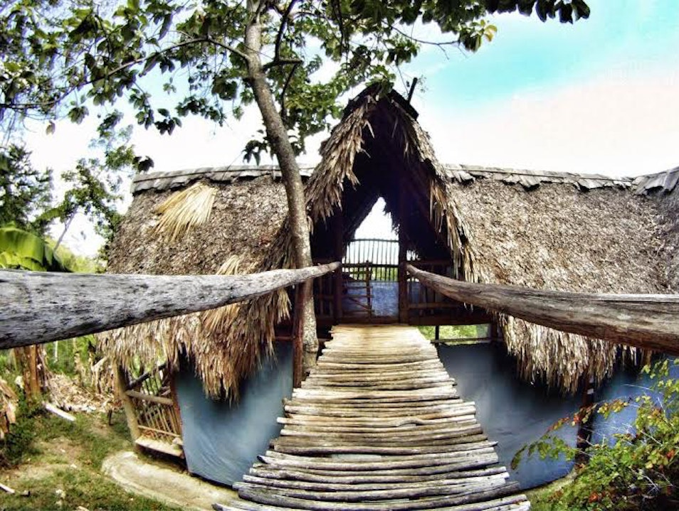Eco-lodge accommodations with daily yoga Tubagua  Dominican Republic
