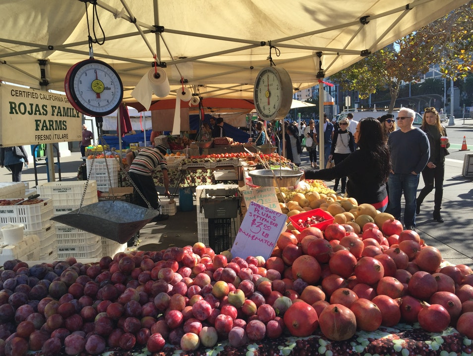 Farmers Market at the Ferry Building San Francisco California United States