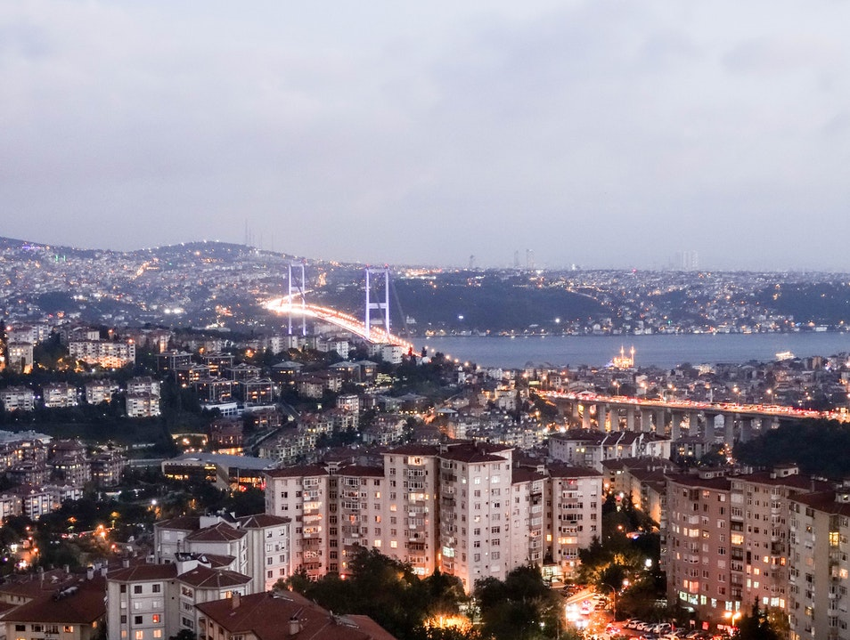 One Exotic City, Two Distinct Continents Istanbul  Turkey