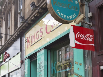 Kings Café Glasgow  United Kingdom