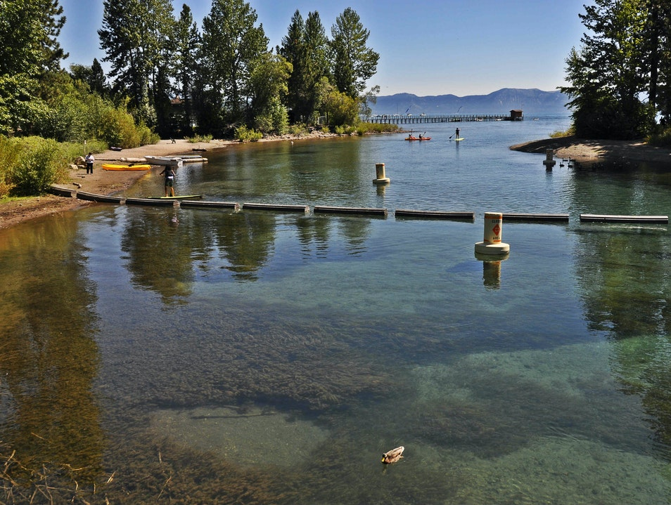 Lake Tahoe Stand Up Paddleboarding for Rookies  Glenbrook Nevada United States