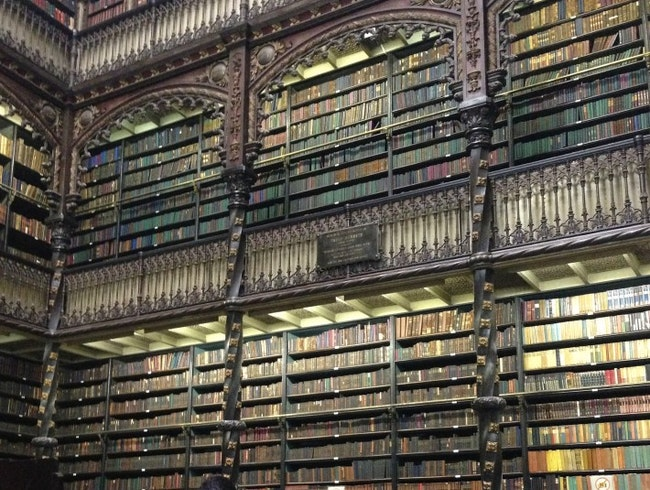 The Prettiest Library in Rio