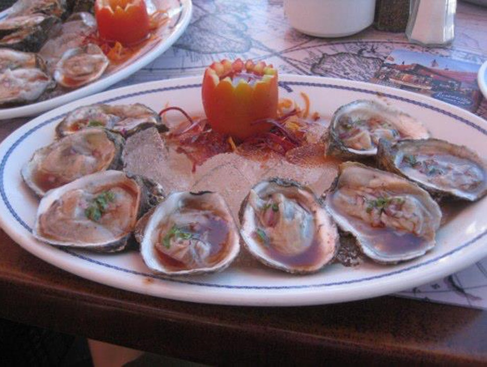 Oysters Baja Style