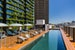 The rooftop pool at The Old Clare Hotel  Sydney  Australia