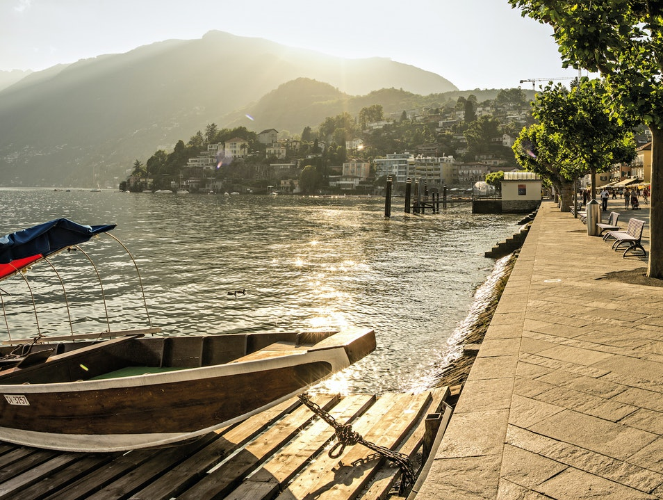 Lakeside Cocktails Ascona  Switzerland
