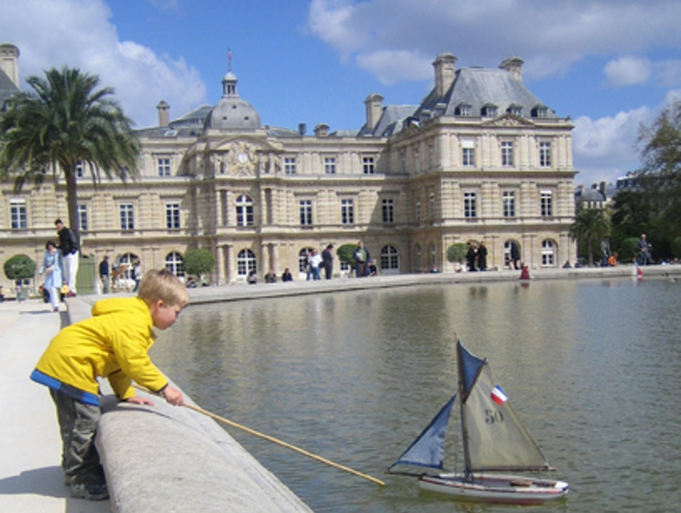 Paris with Kids: Jardin des Tuileries   France