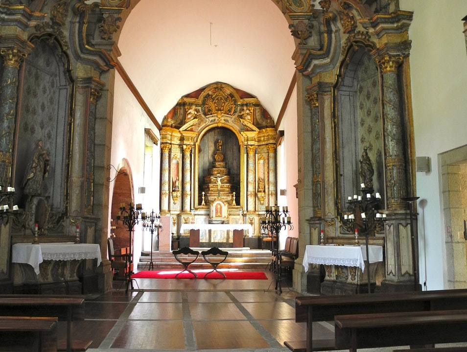 THE CHURCH AT THE FORT Chaves  Portugal