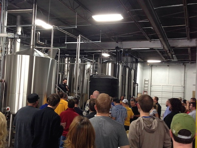 Take a Brewery Tour