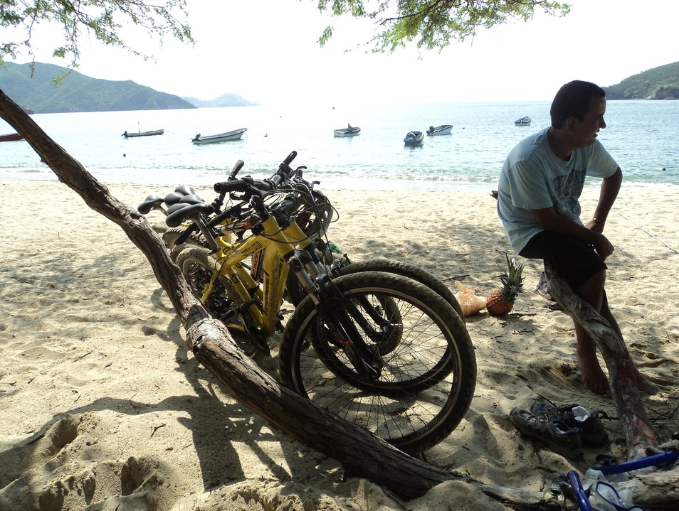 Nice Bike n Beach Day Santa Marta  Colombia