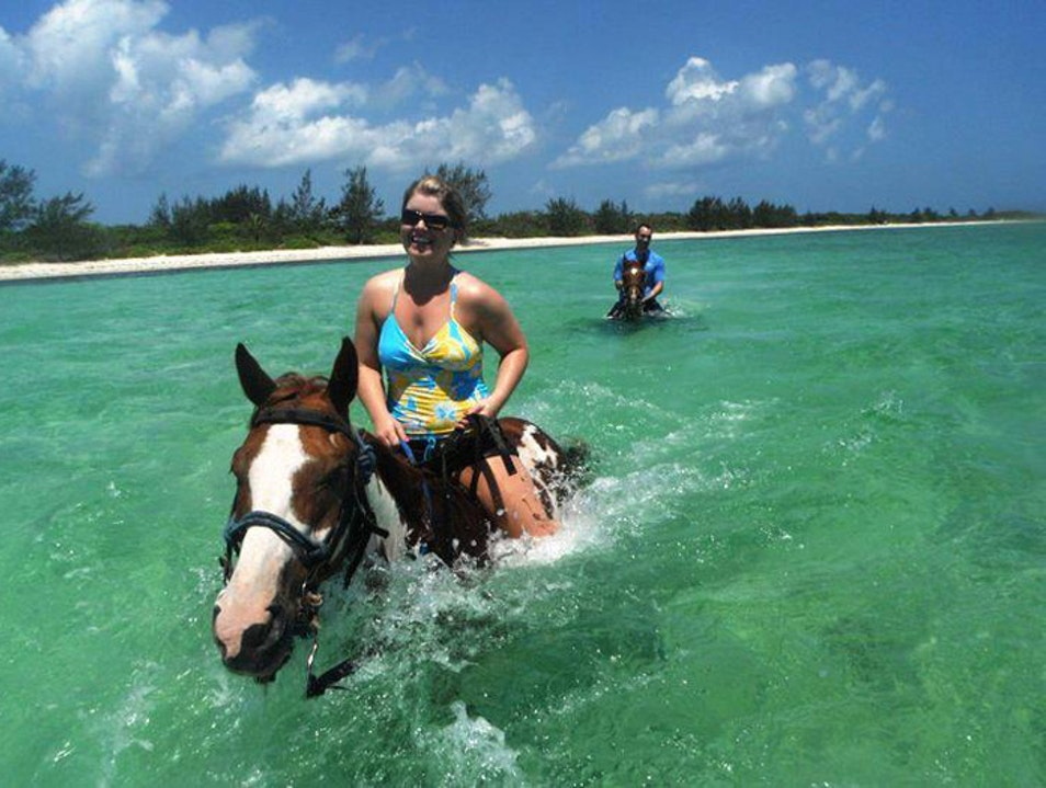Ride Horses on the Beach in the Cayman Islands