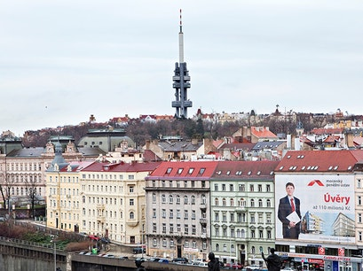 Zizkov TV Tower Prague  Czechia