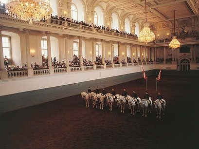 Spanish Riding School Vienna  Austria
