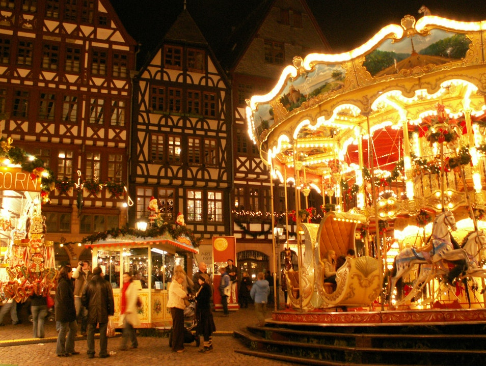Christmas Markets (Weihnachtsmarkt) in Germany Frankfurt  Germany
