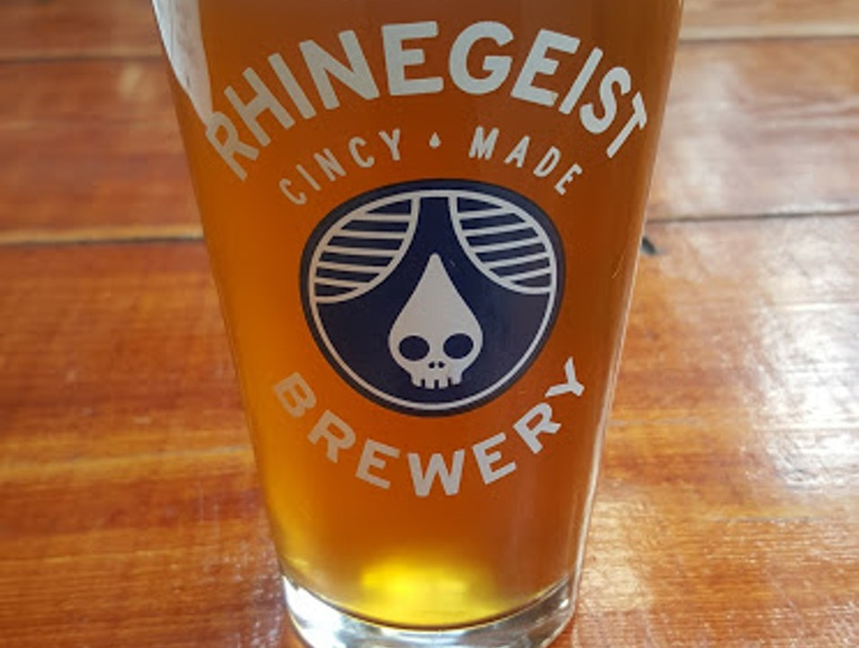 Beer @ Rhinegeist Brewery in Cincy Cincinnati Ohio United States