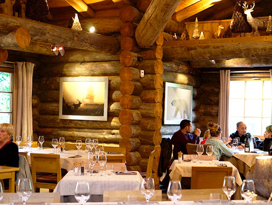 Dine with a View Chamonix Mont Blanc  France