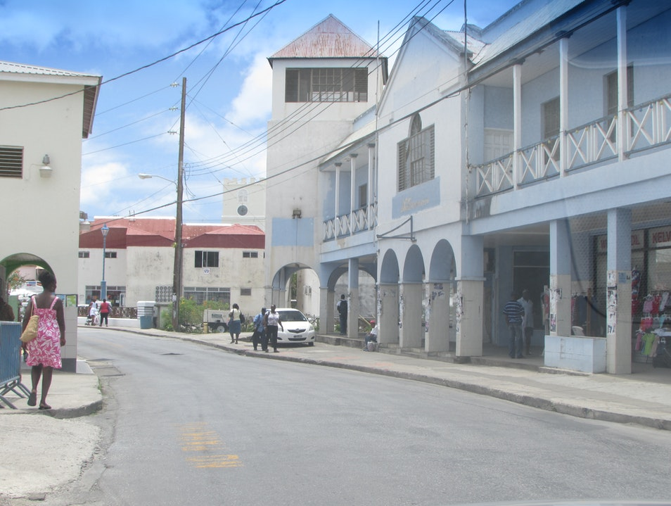 Shop and stroll Bridgetown Bridgetown  Barbados