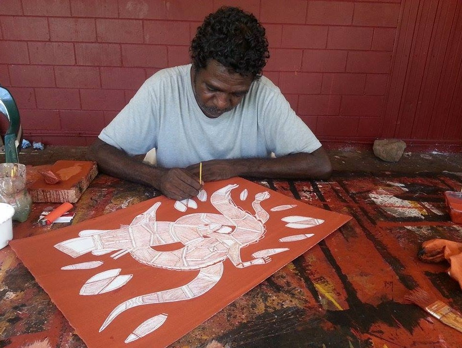 The Art of Arnhem Land Gunbalanya  Australia