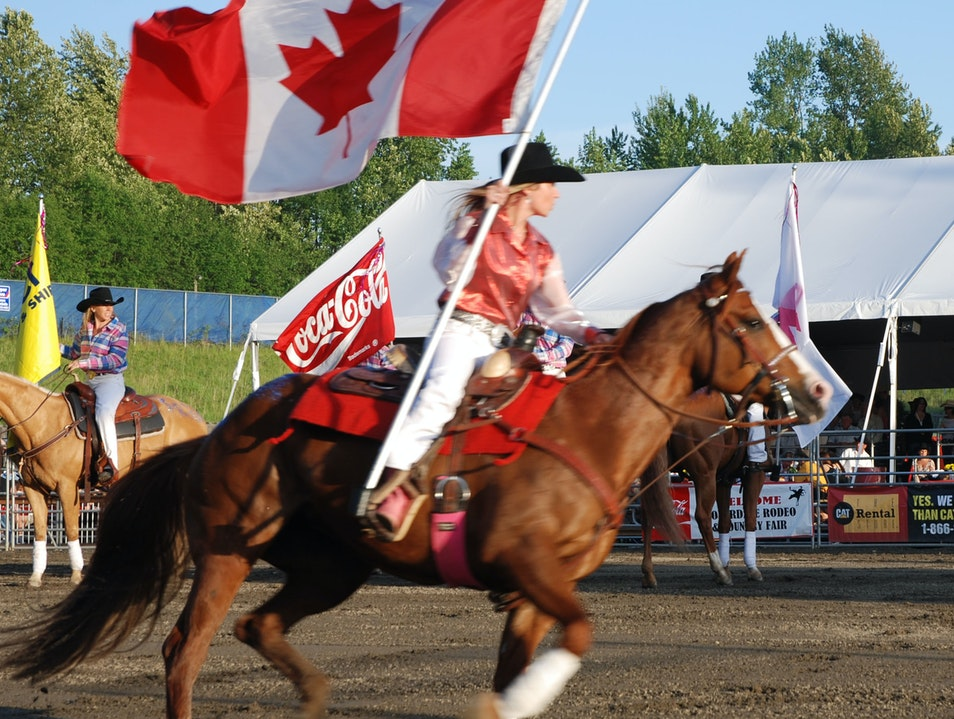 Cloverdale Rodeo and Country Fair every May Surrey  Canada