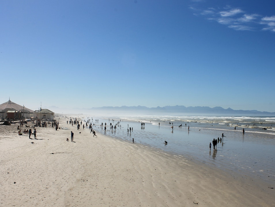 Muizenberg Beach Cape Town  South Africa