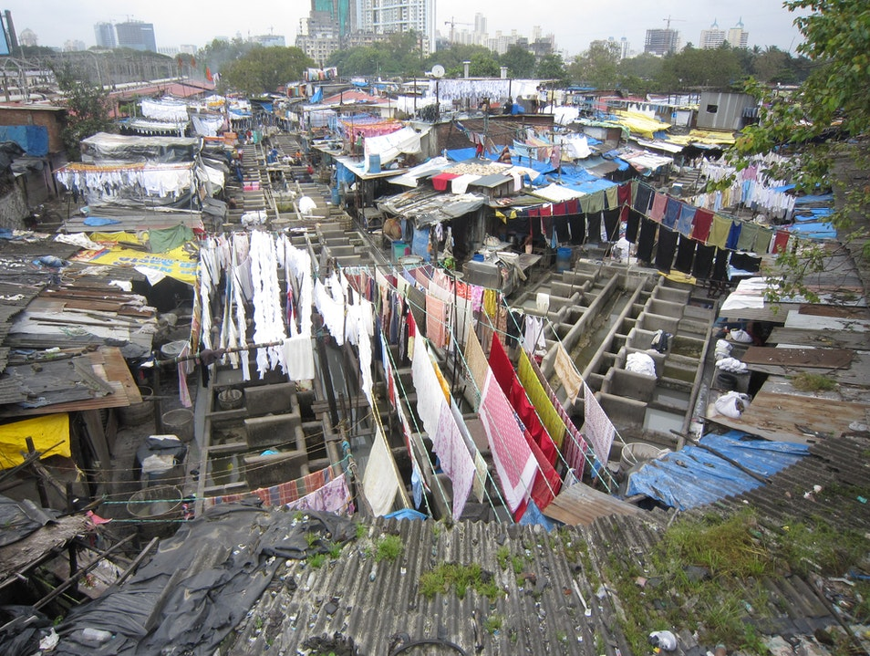 The World's Largest Outdoor Laundry Mumbai  India