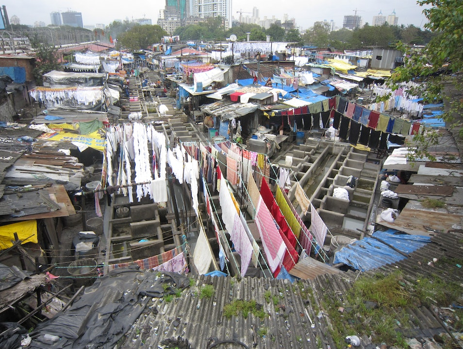 The World's Largest Outdoor Laundry