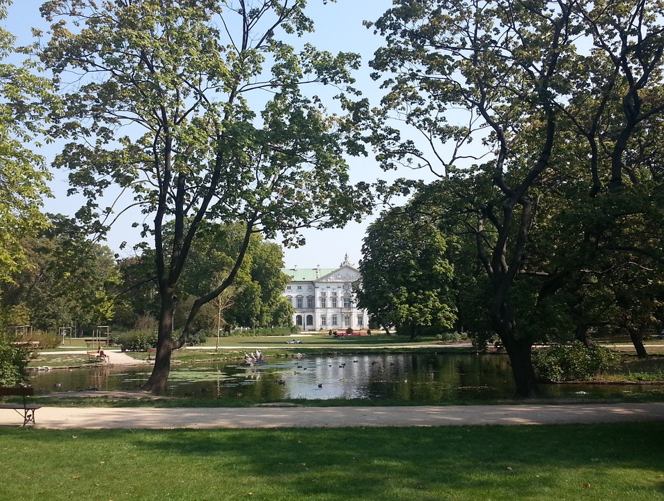 Beautiful, tranquil gardens missed by most    Warsaw  Poland