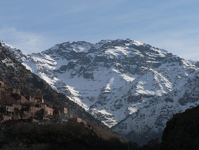 View of Jebel Toubkal