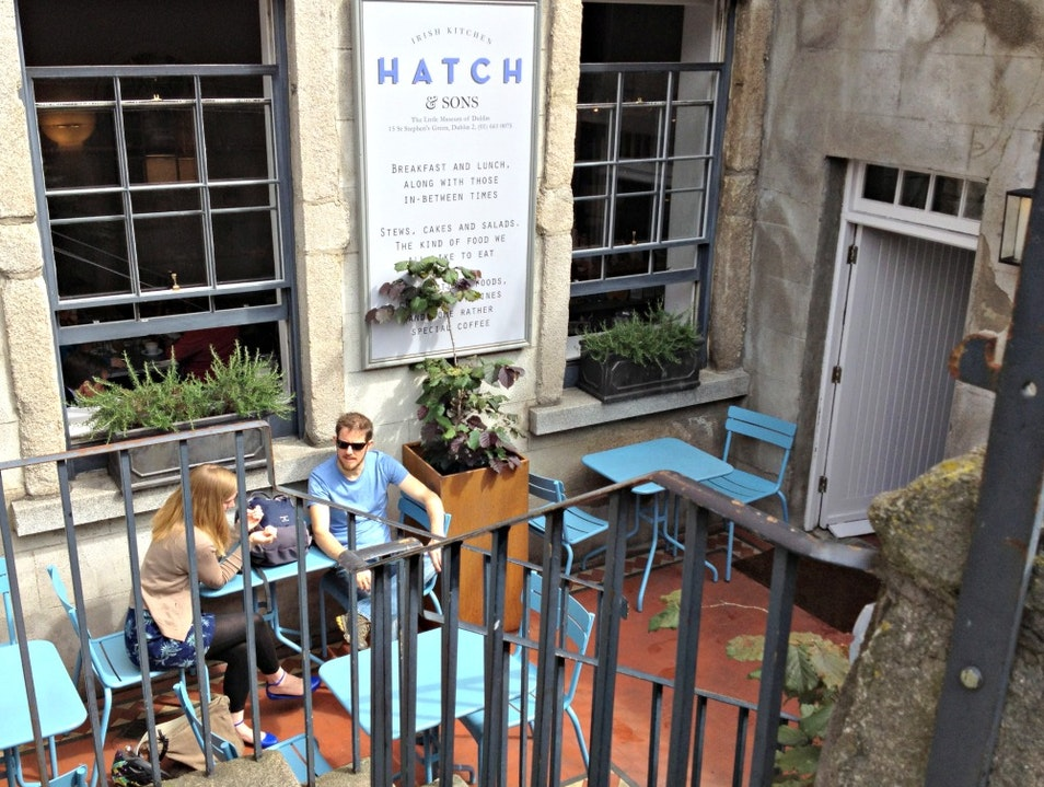 Biting the brilliant blaas at Hatch and Sons Dublin  Ireland