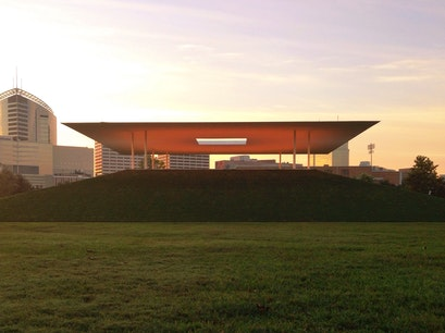 "James Turrell's ""Twilight Epiphany"" Skyspace Houston Texas United States"